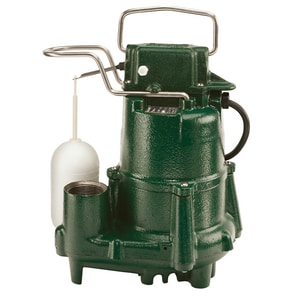 Zoeller Model 98 115V 1/2 HP Auto Effluent Submersible Sump Pump Z980001 at Pollardwater