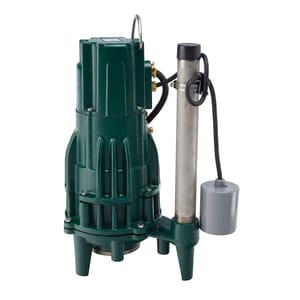 Zoeller 1-1/4 in. 2 HP Submersible Grinder Pump Z8200011 at Pollardwater