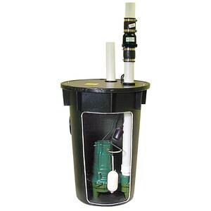 Zoeller 1/2 hp Sewage Pump Packaged System Z9120010