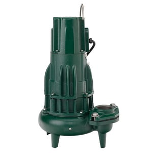 Zoeller Waste Mate 230V 1HP Manual Cast Iron Sewage Pump Z2840004