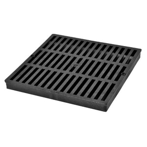 NDS 12 x 12 in. Grate For Catch Basin in Black N1211