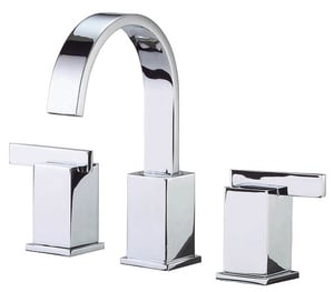 Danze Sirius™ Widespread High Arc Lavatory Faucet with Double Lever Handle DD304044