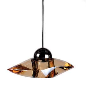Sorriso SORRISO LED GOLD PENDANT WITH CHROME CANOPY WMPLED336GLCH