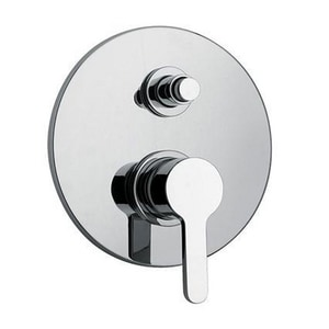 Fortis Brera Pressure Balancing Tub and Shower Valve Trim in Polished Chrome F9278700PC