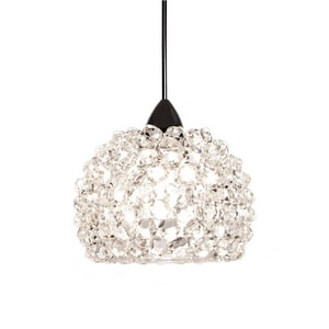 Gia GIA LED CLEAR DIAMOND PENDANT WITH CHROME CANOPY WMPLED542WDCH