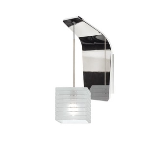 Tulum TULUM LED PENDANT WALL SCONCE WITH FROSTED GLASS IN CHROME WWS72LEDG914FRCH