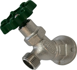 Prier Products C-135 Angle Cast Brass 3/4 in. FPT x Hose Sillcock PC135NP75