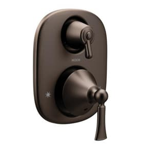 Moen Wynford™ Two Handle Bathtub & Shower Faucet in Oil Rubbed Bronze (Trim Only) MT5500ORB