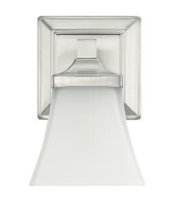 Park Harbor® Penderbrook 100W 1-Light Medium E-27 Incandescent Vanity Fixture in Brushed Nickel PHFVL1001BN