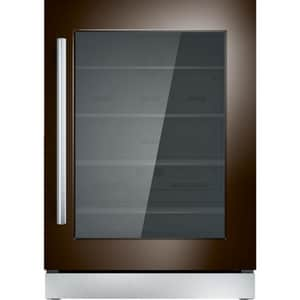 Thermador 23-7/8 in. 5.1 cf Undercounter Compact Glass Door Refrigerator with Right Hinge in Panel Ready TT24UR900RP