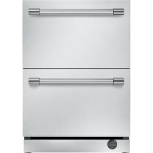 Thermador Professional Series 23-7/8 in. 5 cf Built-in Combo Fridge or Freezer with Drawer in Stainless Steel TT24UC920DS