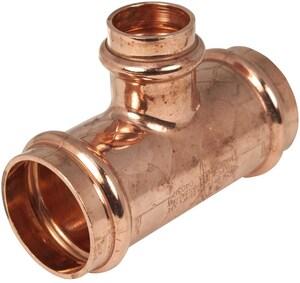 Apollo® Press 1-1/2 x 1-1/2 x 3/4 in. Copper  Reducing Tee A10077