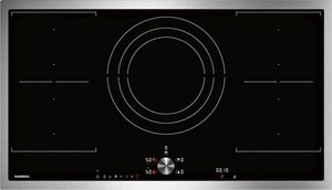 Gaggenau USA 200 Series 35-3/4 in. 5-burner 5-element Induction Cooktop in Black GCI292610