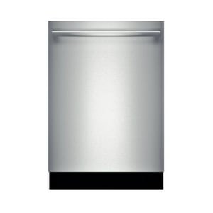 Bosch Benchmark™ 23-9/16 in. 40dB Bar Handle Dishwasher in Stainless Steel BSHX8PT55UC
