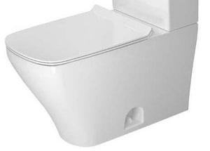 Duravit DuraStyle 1.32 gpf Elongated Floor Mount Toilet Bowl in White D2160010000