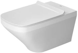 Duravit DuraStyle 1.6 gpf Elongated Wall Mount One Piece Toilet in White D2542090092