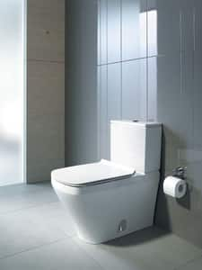 Duravit DuraStyle 1.6 gpf Elongated Floor Mount Toilet Bowl in White D2156090092