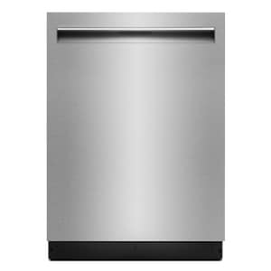 Jennair TriFecta™ 23-7/8 in. 20A 38dB 7-cycle Undercounter and Built-in Underside Dishwasher in Stainless Steel JJDTSS247HS