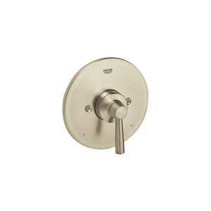 GROHE® Arden Single Handle Bathtub & Shower Faucet in StarLight Brushed Nickel Trim Only G19312EN1