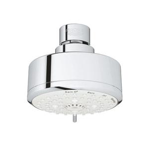 GROHE® New Tempesta Cosmopolitan 100 Multi Function Rain O2, Jet, Massage and Rain Showerhead in StarLight Chrome G26043