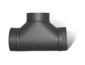 7 x 7 x 7 in. Duct Tee with Crimp SHMTBTW