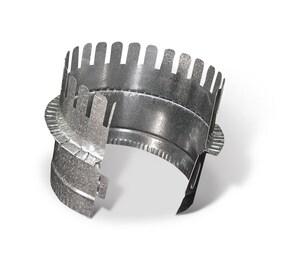 12 in. Galvanized Steel Starting Collar in Round Duct SHMCSTDB12