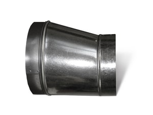 Lukjan Metal Products 26 ga Galvanized Spiral Duct Reducer SHMSPR10