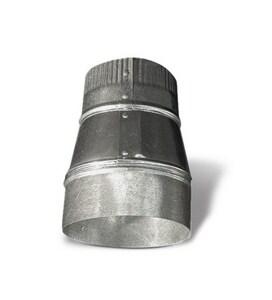 26 ga Galvanized Small End Crimped Duct Reducer SHMRC262018