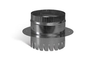 16 in. Galvanized Steel Starting Collar in Round Duct SHMCDBR816