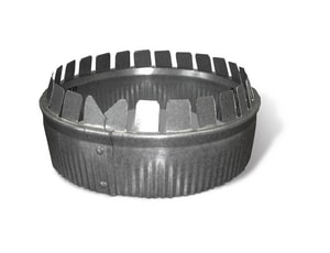 8 in. Galvanized Steel Short Starting Collar SHMCX