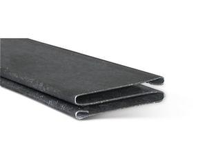 Lukjan Metal Products 120 in. Galvanized Steel Duct Cleat SHMSCLT24120