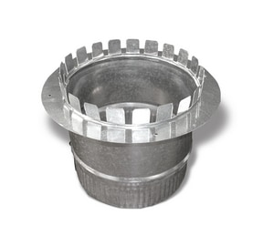 9 in. Galvanized Steel Starting Collar in Round Duct SHMCLRY