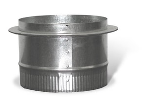 TA40 4 in. Duct Round Takeoff Galvanized Steel in Round Duct SHMATO