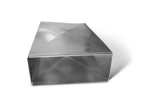 16 x 12 x 60 in. Galvanized Steel Duct Cleat SHMTD1612S