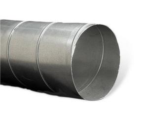Lukjan Metal Products 18 in. x 10 ft. 26 ga Galvanized GP01 Spiral Pipe LGP011826