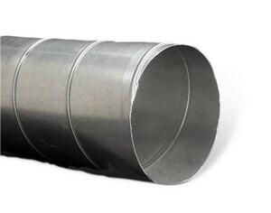 Lukjan Metal Products 18 in. x 10 ft. 26 ga Galvanized Spiral Duct Pipe LGP011826
