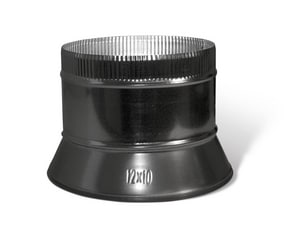 16 in. Conical Spin-In Collar with Damper SHMCSID16