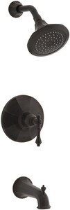 Kohler Kelston® 2 gpm Pressure Balance Tub and Shower Trim with Single Lever Handle in Oil Rubbed Bronze KT13492-4E-2BZ