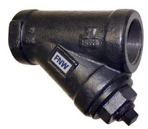 FNW® Figure 559 2 in. Cast Iron 250# Thread 20 Mesh Wye Strainer FNW559K