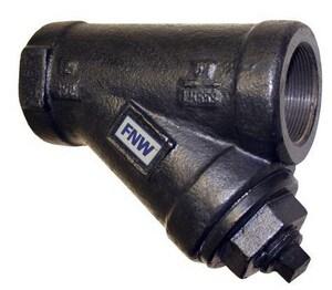 FNW® Figure 559 2-1/2 in. Cast Iron 250# Thread 20 Mesh Wye Strainer FNW559L