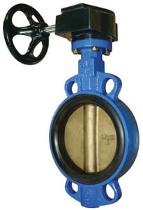 FNW® 711 Series 24 in. Ductile Iron Buna-N Gear Operator Handle Butterfly Valve FNW711BG24 at Pollardwater