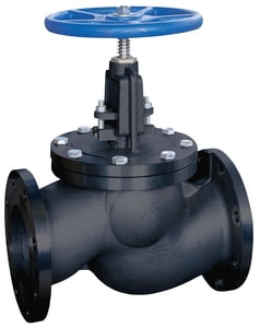 FNW® 562 8 in. Carbon Steel Flanged Outside Globe Valve FNW562X