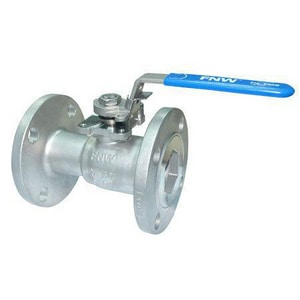FNW® 4 in. Stainless Steel Reduced Port Flanged 150# Ball Valve FNW500BP