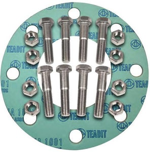 FNW 5 in. 300# Non-Asbestos Nut, Bolt and Gasket Kit FNWNBGZ3NAR8S