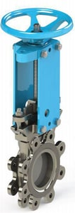 FNW® 4 x 7-1/2 in. 150 psi 304L Stainless Steel Unidirectional Shut-Off Knife Gate Valve Blade FNW6701BLP