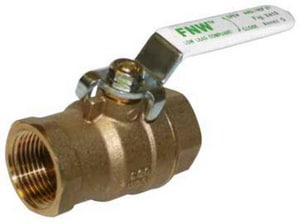 FNW® 1/4 in. Brass Full Port Threaded 600# Ball Valve FNWX410CB