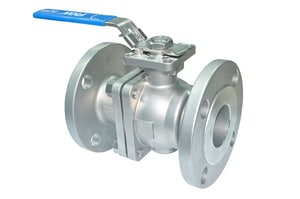 FNW® 2-1/2 in. 316 Stainless Steel Full Port Flanged 150# Ball Valve FNW600BL