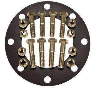 FNW® 6 in. 150# 304L Stainless Steel Full Face Flange Set FNWNBGS41RF8U at Pollardwater