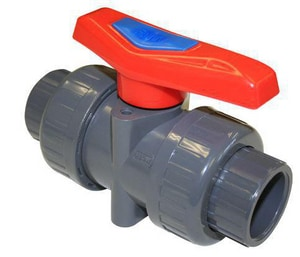 FNW® 1/2 in. PVC Full Port Slip 150# Ball Valve FNW340NED