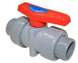 FNW 1-1/2 in. CPVC Full Port Slip 150# Ball Valve FNW350NEJ